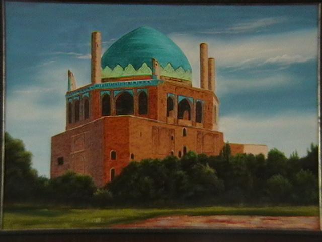 گنبد زیبای سلطانیه